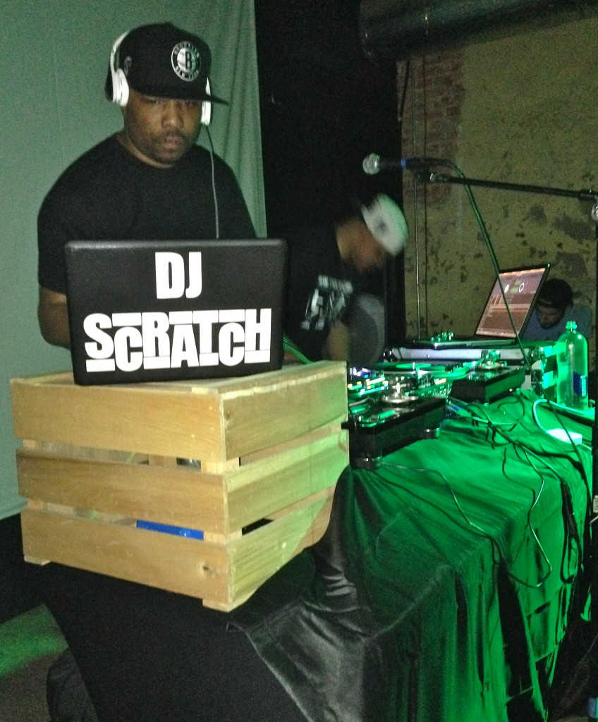 Picture of dj scratch
