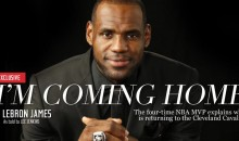 LeBron to Sports Illustrated…I'm Coming Home to Cleveland!