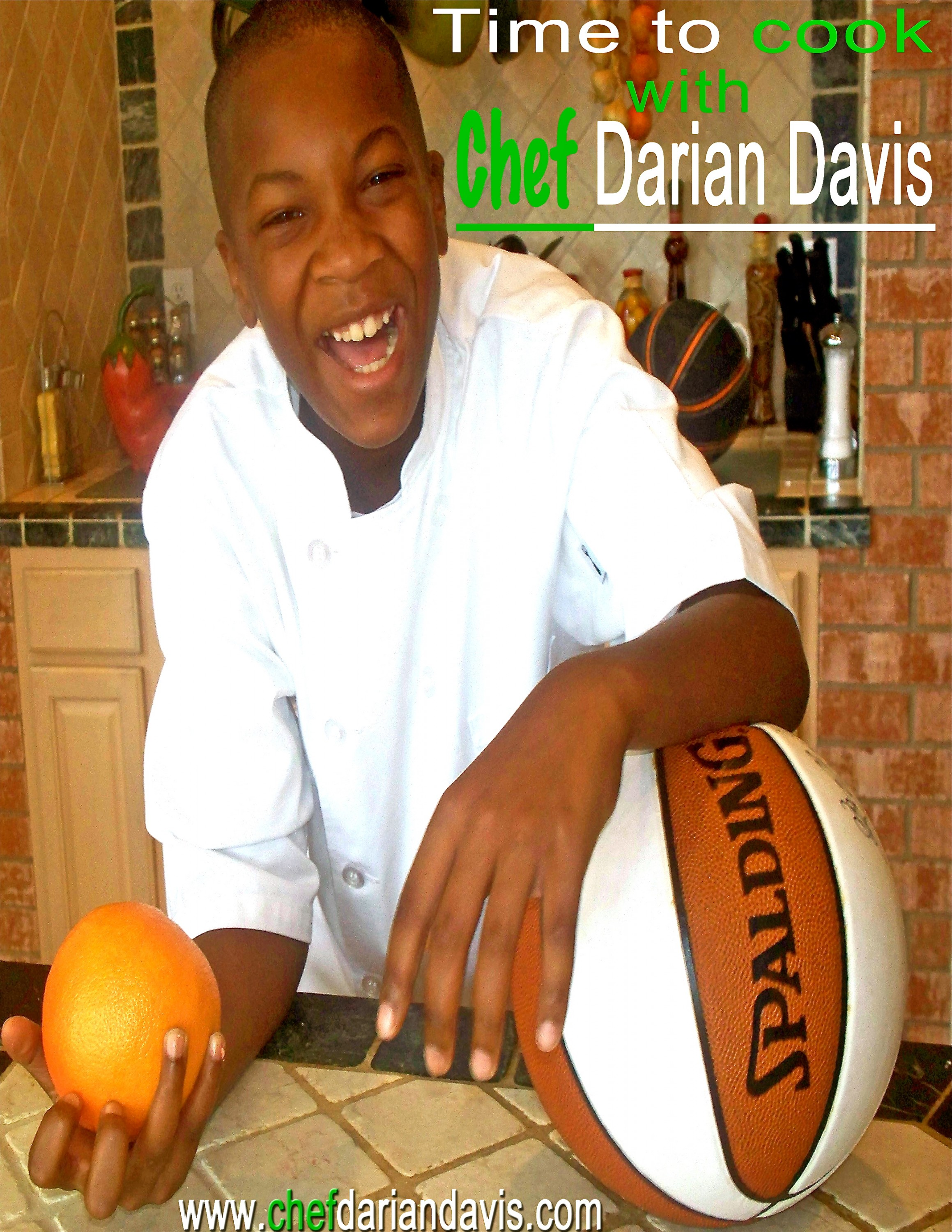 time to cook with chef darian davis