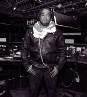 black and white picture of dj rasta root | 1infamous Nation
