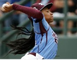 female pitching phenom