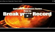 How to Break your Independent Record | DJ B DUB