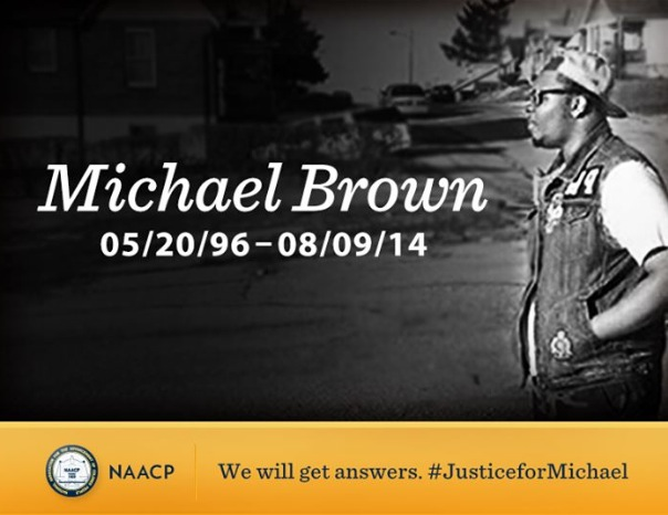 R.I.P Poster of Michael Brown Jr.