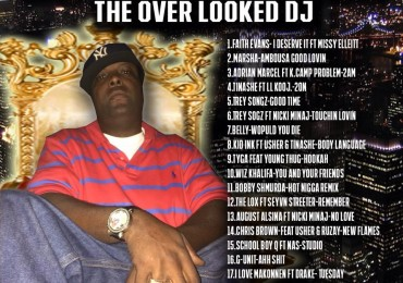 "cover of dj jasey jase mixtape: ""the over looked dj"""