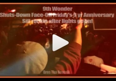 picture of MJQ with 9th wonder on the turntables
