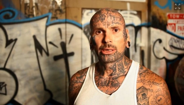 picture of slain hollywood tattoo artist trigz