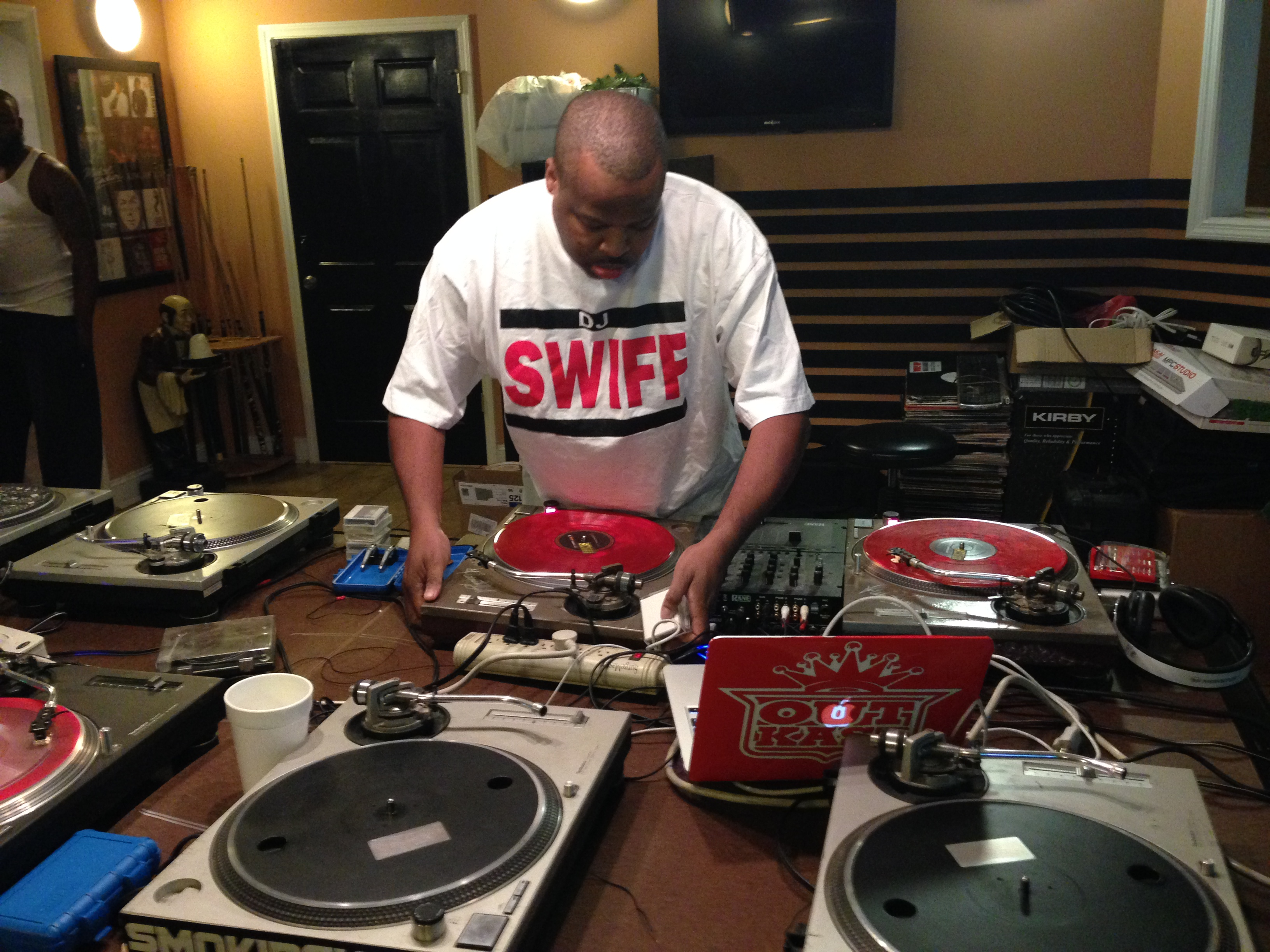 pcture of Dj Cutmaster Swiff of Outkast