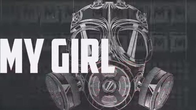 gas mask image used in Nicki Minaj video