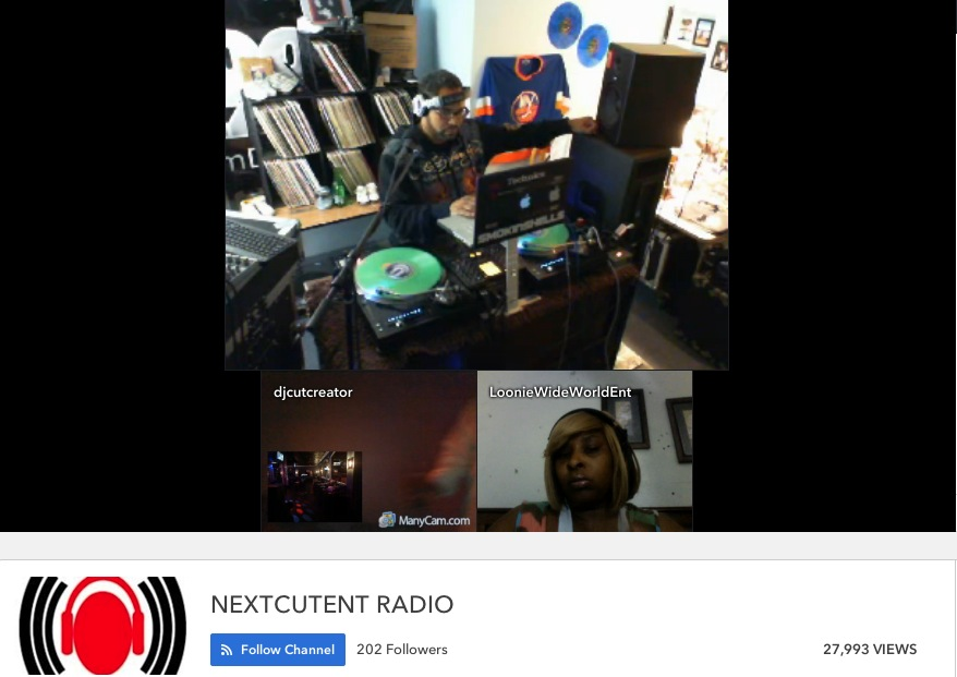 NextCutRadio Live Stream with DJ J-Spin