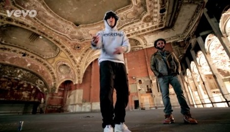 picture of Eminem and RoyceDa 5'""