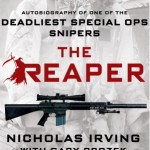 The Reaper Book Cover 'Nicholas Irving