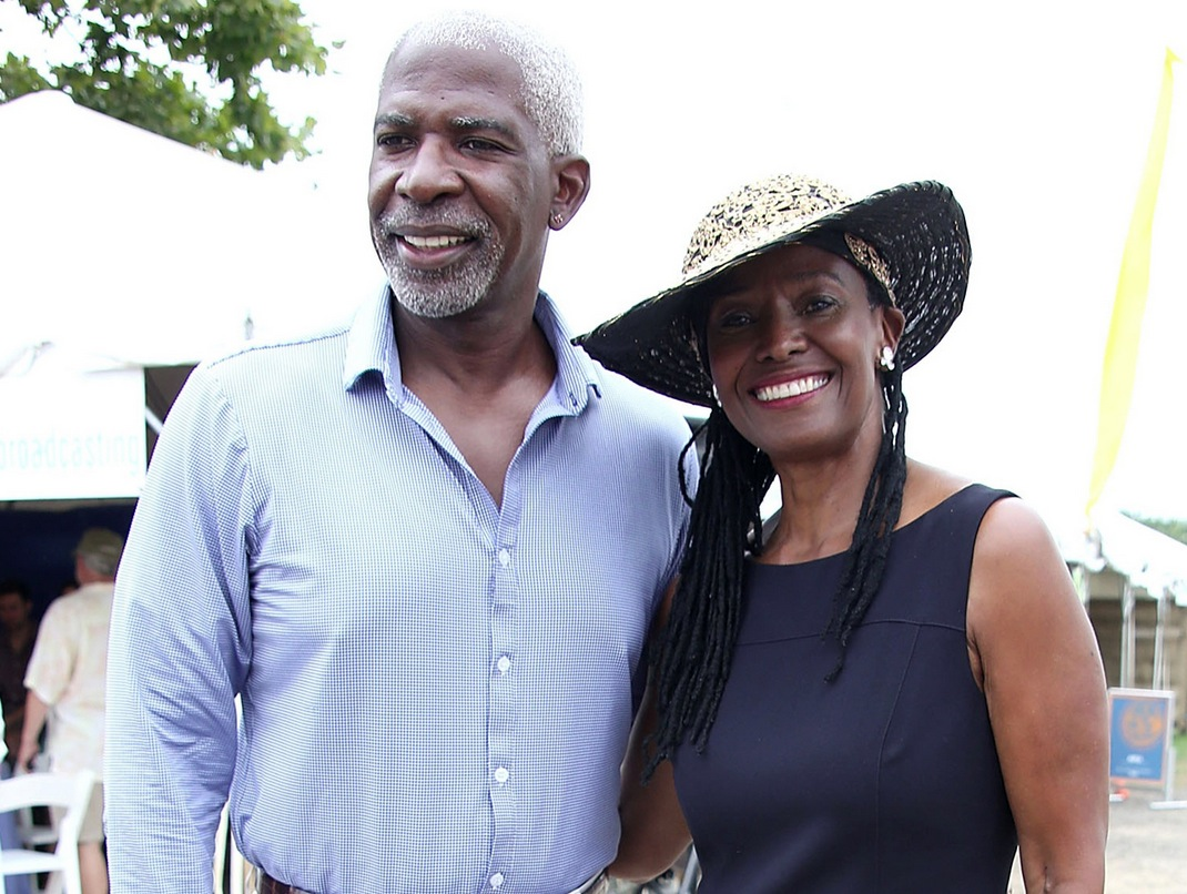 Picture of B. Smith and husband Dan Gasby