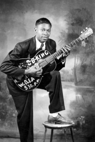 Picture of the late B.B King