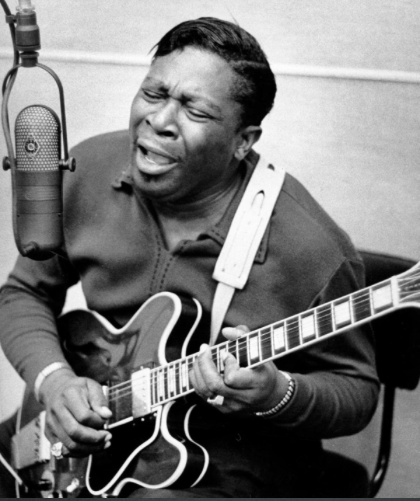 Picture of the late great B.B King